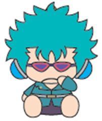 銀魂×Sanrio characters KIHEITAI×ゴロピカドン むにゅぐるみS 万斉